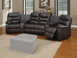 home theater chairs. snug, with adjustable cushioned headrests, deep thick plush seats and large armrests a cupholder buttons. upholstery made from black leather-based. home theater chairs y