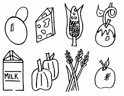 See more ideas about coloring pages, coloring sheets, coloring books. Healthy Food Coloring Pages For Kids Coloring Home