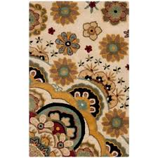 safavieh soho ivory multi 3 ft x 4 ft area rug