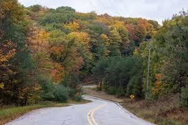 back roads for peak fall color