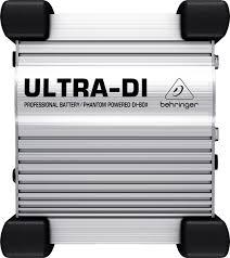 Купить <b>Behringer Ultra</b>-<b>DI DI100</b> di <b>box</b> стерео: цена на дибоксы ...