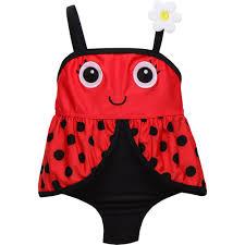 Ladybug Bedroom Candlesticks Baby Toddler Girl Ladybug 1 Piece Swimsuit Walmart