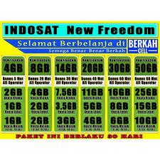 Cara unreg paketan indosat melalui layanan sms ke 363. Tembak Paket Data Indosat New Freedom 30hr Shopee Indonesia