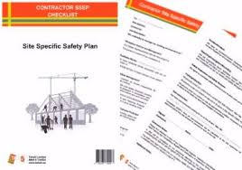 Contractor Checklist Contractor Sssp Checklist Take5 Health And Safety Stationery