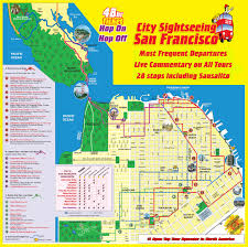 maps update  sf tourist attractions map – san francisco