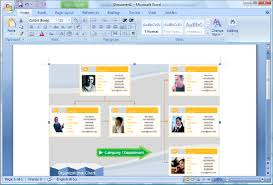 How To Do An Org Chart In Word Create Organization Charts In Microsoft Word
