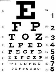 Florida Dmv Vision Test Chart 27 Credible Eye Chart 1240