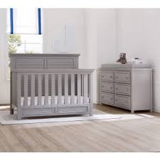 simmons monterey dresser rustic white. simmons oakmont collection 2 piece nursey set crib and double dresser monterey rustic white
