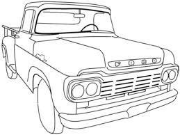 Pickup Truck Coloring Pages #2317 - 505×470 | Coloring Books ...