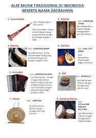 Jenis alat musik tersebut adalah jenis alat musik yang mengeluarkan bunyi berjenis aerofon. Alat Musik Tradisional Di Indonesia Beserta Nama Daerahnya