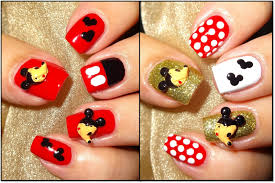 Wendy's Delights: Mickey Mouse 3D Nail Decorations from Charlies ...