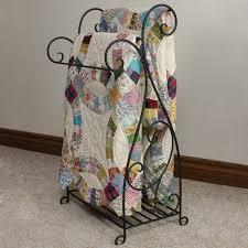 Narrow Quilt Rack | Hayneedle &  Adamdwight.com