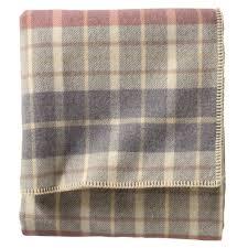 pendleton greyblush ecowise washable wool blanket
