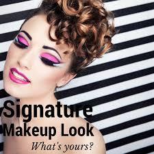 signature makeup look