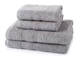 bath towels. 4 Piece 500GSM Towel Bale Set (2 Hand Towels \u0026 2 Bath Towels)