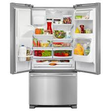 French Door 22 cubic foot french door refrigerator pictures : MFI2269DRE Maytag 33