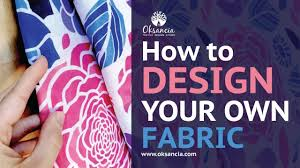 Online Dress Designing Software How To Design Your Own Fabric Step By Step Fabric Design Tutorial With Final Fabric Example