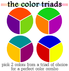 How to Combine Colors : Color Triads