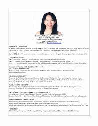 Sample Nursing Student Resume Fresh Resume Sample For Fresh Graduate