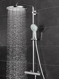 exposed showers