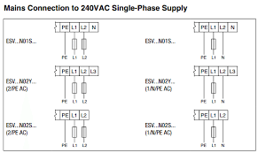 how to wire 240 volt single phase power to an smvector vfd 240 Single Phase Wiring Diagram 240 Single Phase Wiring Diagram #6 240v single phase wiring diagram