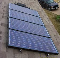 maverick solar diy my system 4 panels roof mounted