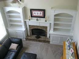 diy built in bookcase around fireplace built bookcases around fireplace added bookshelves diy built in bookcase