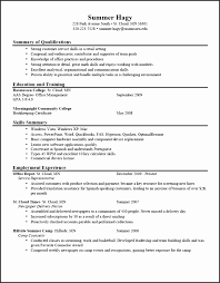 20 Job Resume Examples For College Students | Besttemplates