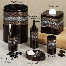 black and gold bathroom accessories. Fantastic Modern Bathroom Accessories Design Ideas Black And Gold F