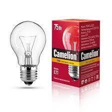 Купить <b>Лампа Camelion</b> 75/A/CL/<b>E27</b> в каталоге интернет ...