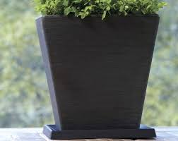 universal square saucers crescent garden indoor and outdoor planters square outdoor planters large square planters outdoor