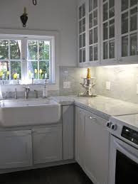 carrara marble backsplash.  Backsplash Awesome Modern Kitchen Set With Marble Backsplash Carrara Intended For Size  3000 X 4000 Throughout R