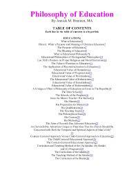 philosophy of education essay essays on education and essays on education and educational philosophy