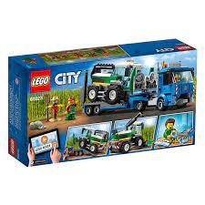 Mô hình Lego City - Xe Vận Tải Máy Gặt 60223