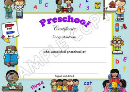 Pre K Graduation Certificate Pre K Diploma Archives Lessons For Little Ones By Tina Oblock
