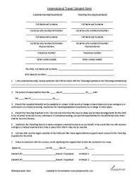 Medical Release Form For Grandparents Medical Consent Form For Grandparents Template Business