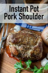 Instant Pot Roast Pork