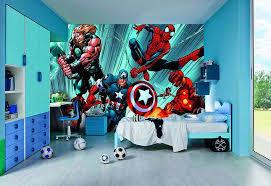 marvel superhero wall decal little boy bedroom sets