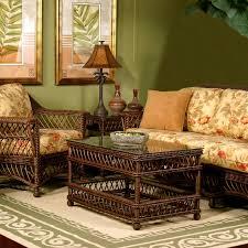 Furniture Wicker Indoor Sunroom Furniture With Decorative