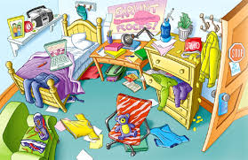 clipart no messy bedroom clipground messy room essay