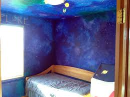 On The Wall Painting How To Paint A Star Night Sky Themed Nursery That Will Last Until