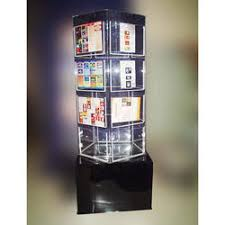 Revolving Display Stands Acrylic Rotational Displays Acrylic Rotating Book Display 25