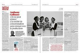 Presse - Anthony Galluzzo dans Libération - Éditions Zones