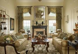 living room designs traditional