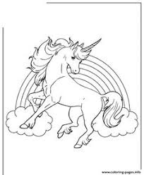 unicorn horse with rainbow for s coloring pages printable and coloring book to print for free find more coloring pages for kids and s of
