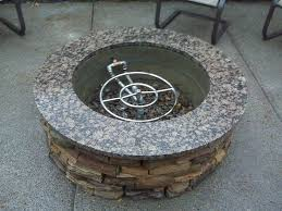 round diy gas fire pit kit 38 outdoor how to pertaining designs 16
