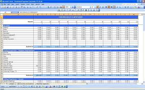 Microsoft Excel Accounting Spreadsheet Templates Excel Spreadsheet