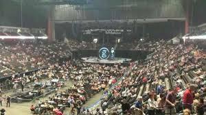 Veterans Memorial Arena Seating Chart Vystar Veterans Memorial Arena Section 107 Row Aa Seat 11