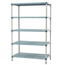 Metro 5Q567G3 MetroMax Q Epoxy Coated Wire Shelving Unit w/ (5) Levels,  60