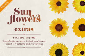 Includes all designs in preview photo :) this design is printable. 1 Boutonniere Sunflower Designs Graphics